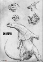 CKC Alien Races: Saurian by Quinn-Red