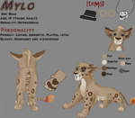Mylo reference sheet! by Ell1995