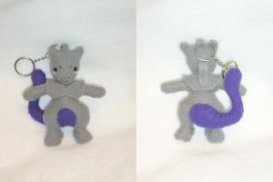 Charity Auction Plush - Mewtwo by Sexual-Pancake