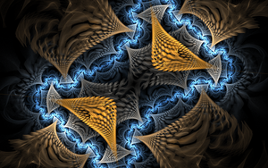 lightful bluebrown pattern by Andrea1981G