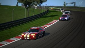 GT Cars at the Test Track 1 by K9RASArt
