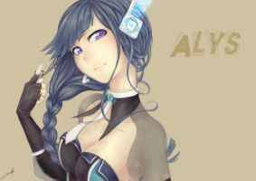 VOCALOID ALYS by Mikkie33