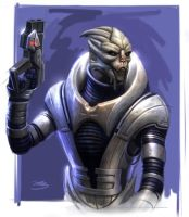 Turian by Mike-Sass