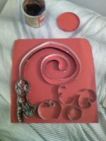 quilling kitty tail and MEOW by Lovett91