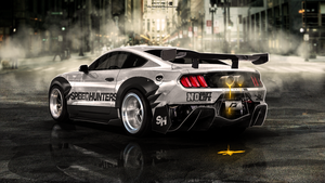 Mustang 2015   by Emil-Arts