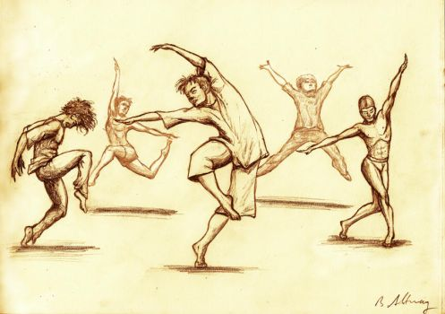 Dancers by RabHanno