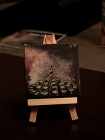 Imagine Dragons Night Visions miniature painting by mrsxbenzedrine