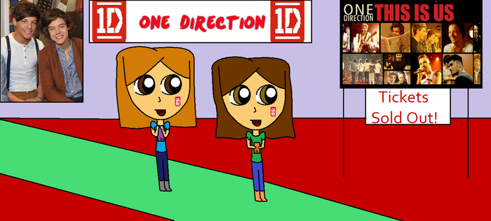 One Direction Concert! by agentbananayum