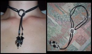 lucky dice choker by something-i-am-not