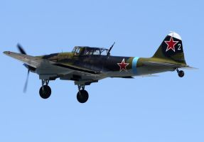 Ilyushin IL-2 Sturmovik Take Off by shelbs2