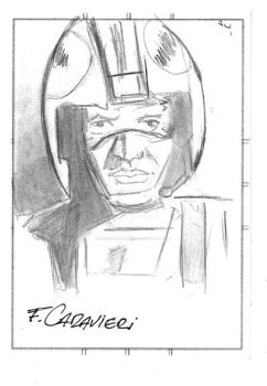 Luke Skywalker Sketch Card 01 by FabioCaravieri