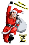 Santa Goku - Merry Christmas!! by el-maky-z