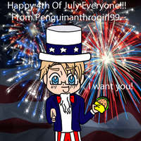 HAPPY 4TH OF JULY 2014!!!!!! by Penguinanthrogirl99