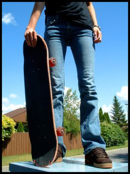 Perfect Day For Skateboard2 by unknown-dreamer