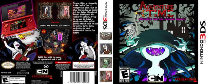 Marceline and the Scream Queens Video Game by CedShadowborn