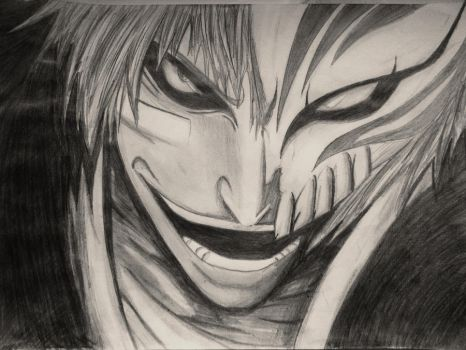 Ichigo Hollow - Bleach by Lemon-Yelloww