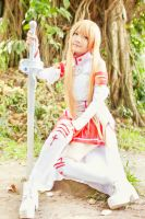Asuna - Break time by nyaomeimei