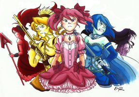 Madoka - We Are... by neofeliss
