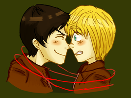 i am 86% sure the pairing name is Eremin sketch by ssanrain