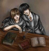 Harry Potter- Sirius and Remus by tairamika