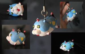 Kingdom Hearts 3D-Wonder Nyan Charm by NixisChan