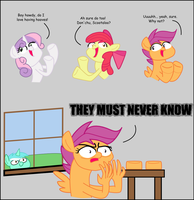 Scootaloo's Secret by JaxStern256