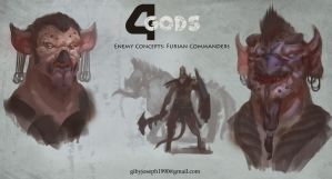 Furian commanders - Concept exploration by Giby-Joseph