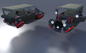 Excelciator HoverCar by Pixel-pencil