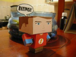 sheldon cubeecraft 3 by 00cheily00