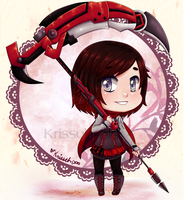 :RWBY: Tiny Warrior by Krisseh-poo