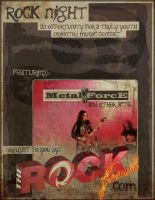 "Gig Flyer ""for sponsors"" by musical-ecstasy"