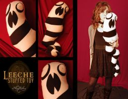 Leeche stuffed toy by Alice-Moonberry