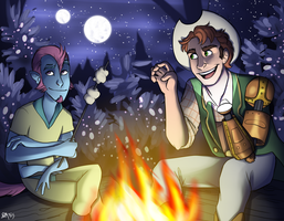 Spooky Campfire Tales by Blairaptor