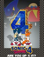 Sonic The Hedgehog 4 Poster by SonicTheBlueStar