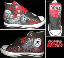 Walking Dead Converse- Part 1 by GamerGirl84244