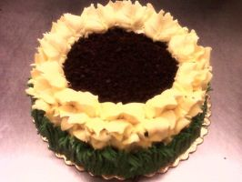 Sunflower Cake by tini