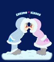 Eskimo Kisses by KM-Galleries