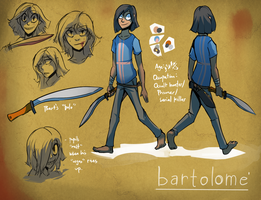 Oct 31: Bartolome reference sheet. by stupidyou3