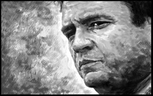 Johnny Cash by feoh12