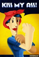 Rosie The Riveter Mock by roberlan