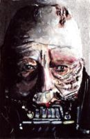 Star Wars Sketch Card - Anakin 4 by solman1