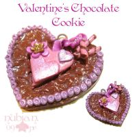 Valentine's Choco Cookie by colourful-blossom