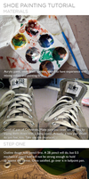 Shoe Painting Tutorial by tehevilbatdog