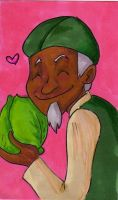 Avatar: Cabbage man by pixie-the-gator