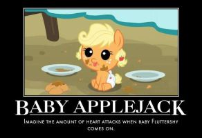 Baby Applejack Motivational by jswv