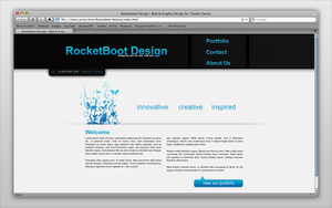 Rocketboot Design Firm by AreoX