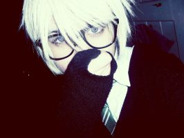 Draco Malfoy with glasses by Brezbriznost