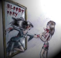 Bloody Mary - colored by TwickyGirl