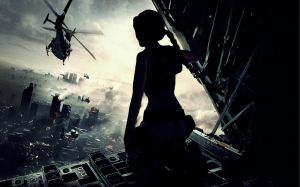Lara_Croft_World_War_Z by ivedada