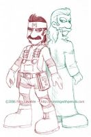 Mario Gear Solid by falingard